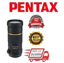 Pentax SMCP-DA* 300mm F4 ED IF SDM Autofocus Lens For Digital SLR Camera (UK)