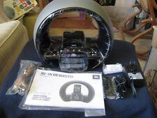 JBL On Air Wireless Speaker System Built in Wi-Fi FM radio Clock with Dual Alarm