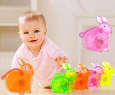 Flashing XIU S Light Up Spikey High Bouncing Balls Novelty Sensory Rabbit Ball