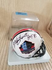 d60425084 New ListingMEL BLOUNT SIGNED AUTOGRAPHED HALL of FAME MINI HELMET - Pittsburgh  Steelers