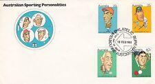 (02370) Australia FDC Sporting Heroes 18 February 1981