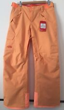 The North Face Women's Freedom Insulated Ski Snow Pants Orange  Size M NWT $145