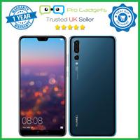 New Huawei P20 Pro 128GB 6GB Unlocked Dual SIM - Blue - 1 Year Warranty CLT-L29