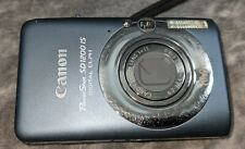 Canon PowerShot SD1200 IS 10.0MP Digital ELPH grey Camera Point Shoot W/Case