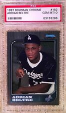1997 BOWMAN CHROME ADRIAN BELTRE RC PSA 10 CARDREGISTRYinc. 3000 Hits