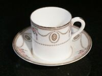 Beautiful Royal Doulton Countess Demitasse And Saucer Circa 1920