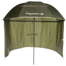 Caperlan Fishing Umbrella Awning Brolly Carp Sea Waterproof Side Protection Top