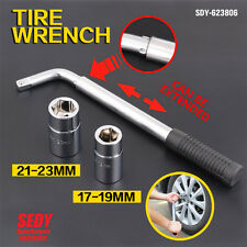 NEW 500mm TELESCOPIC WHEEL NUTS WRENCH SPANNER SOCKET SET 17mm 21mm 19mm 23mm