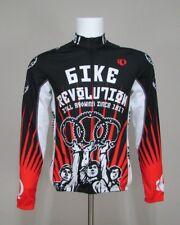 Pearl Izumi Viva La Bike Thermal Cycling Jersey Full-Zip L/S Polyester Large