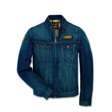 Ducati Scrambler Trucker Patch Denim Jacket Jeans Blue Like New ( Size Small )