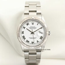 Full Set Rolex DateJust Turn-o-Graph Stainless Steel 16264