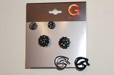 NWT G GUESS WING G FIREBALL EARRINGS E151054-C1