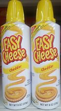 Kraft Easy Cheese Squeeze Can Cheddar Flavor ( 2 cans )