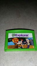 Leap pad Leap Frog Explorer game. Phineas and Ferb