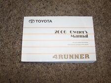 2006 Toyota 4Runner Owner Owner's User Guide Manual SR5 Limited 4.0L V6 4.7L V8