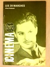 L'AVANT SCENE CINEMA N° 249 / 1980 / LES 39 MARCHES / ALFRED HITCHCOCK +++