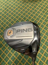 Ping G400 LST Driver 10* Degrees - Ping Tour Stiff Shaft - Head Cover Included