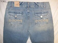 Aeropostale Hailey Skinny Flare 9/10 R Actual Sz 31 1/2 X 31 1/2 Women's Jeans
