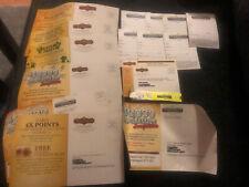 Vintage Fitzgerald's Black Hawk Casino Mailers Lot
