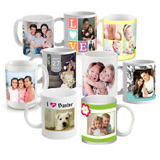 New Custom/Personalized Ceramic 11oz Photo/Logo Coffee Mug Printed