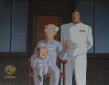 Batman The Animated Series Rare Batman Produciton Cel with Obg Scarface Vent.!