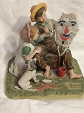 The Kite Maker Figurine By Norman Rockwell