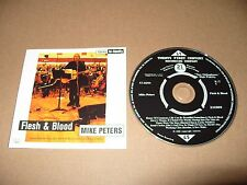 Mike Peters Flesh & Blood 13 track cd 2000 Rare