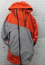 New Mens 686 GLCR Helix Thermagraph Snowboard Jacket Large Burnt Orange Twill