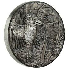 Australien - 2 Dollar 2018 - Kookaburra - High Relief - 2 Oz Silber Antik Finish