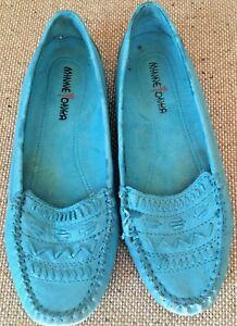 Minnetonka Street Moc Moccasin Slip on Shoes