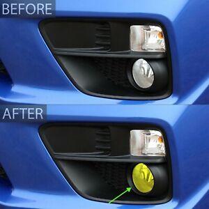 Fits 15-20 Subaru WRX/STI Fog Light Smoke Precut Vinyl Tint Kit Cover Overlay