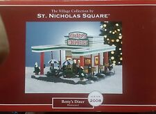 New,The Village Collection St. Nicholas Square Betty's Diner Illumin 2008 Retire