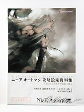 3 - 7 Days NieR Automata Strategy Guide & Design Material Art Book from Japan
