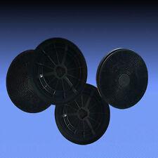 4 Aktivkohlefilter für Dunstabzugshaube Bomann DU 660 IX , DU 667 G , DU 668 G