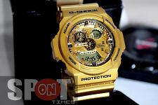 Casio G-Shock Gold Analog Digital Resin 200M Men's Watch GA-300GD-9A