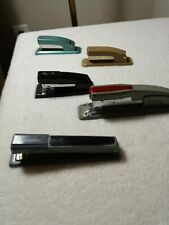 Swingline Staplers Vintage Lot Of 5 Made In Usa Cub Staple Remover Turquoise