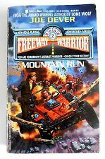 Rare Freeway Warrior #2: Mountain Run Joe Dever Lone Wolf Adventure Gamebook