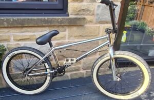 "MAFIA MafiaBikes Kush 2 Chrome Black 20"" Wheel RARE Bmx Bike Free UK Delivery"