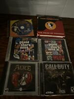 6 PC Game Lot