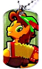 FIM My Little Pony! Dog Tag Necklace #19 Cheese Sandwich Series 2 Collectibles