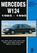 1985-1995 Mercedes W124 Shop Manual E200 220 230E 260E E280 300E 320E outside US