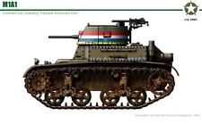 1/35 Commanders 1057 U.S. M1A1 Combat Car Tank Resin Model Kit - with out Tracks