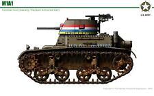 1/35 Commanders 1057 U.S. M1A1 Combat Car Tank Resin Model Kit - w/AFV Tracks