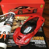 New 1/18 Bburago Ferrari LaFerrari Diecast open close car model Red Black Roof