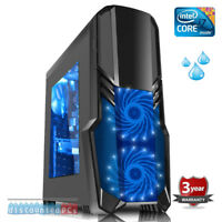 Intel i7 8700k Sixcore Liquid Cooled Gaming Pc 16gb 240gb ssd Windows 10 dp51