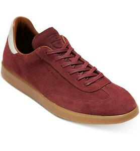 COLE HAAN Mens Grand Pro Turf Sneakers Shoes Casual, Mahogany Suede, NWT