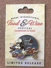 Disney Epcot Food & Wine Festival 2015 Lr Mickey Mouse Pin
