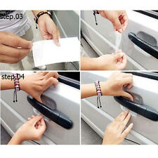 8x Universal CAR Door Handle Protector Film Scratch Paint Protect Vinyl Sticker