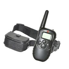 Pet Dog Training Collar Waterproof Electric Shock Rechargeable Remote 300M