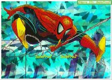 MARVEL 1962 1992 SPIDERMAN 30TH ANNIVERSARY RARE PRISM MOVING ON MINT CARD #P12
